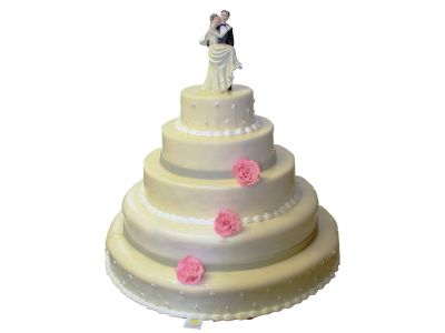 Wedding cake 160 pers